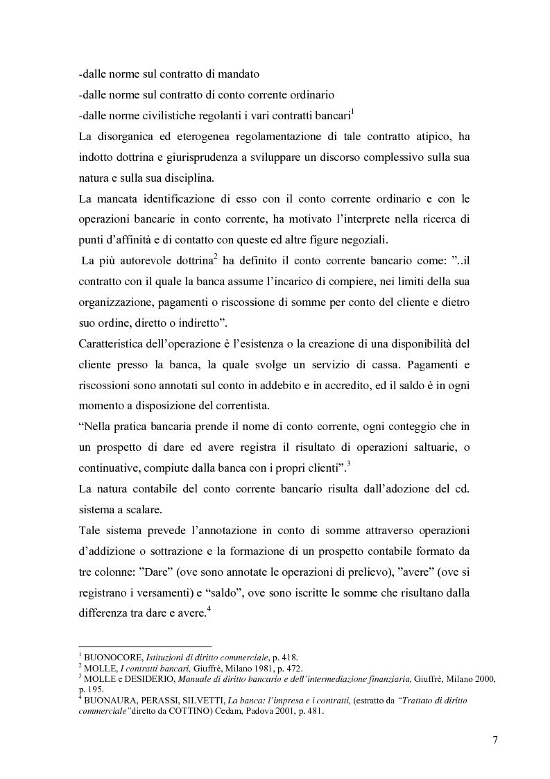 Anteprima della tesi: L'anatocismo bancario, Pagina 4