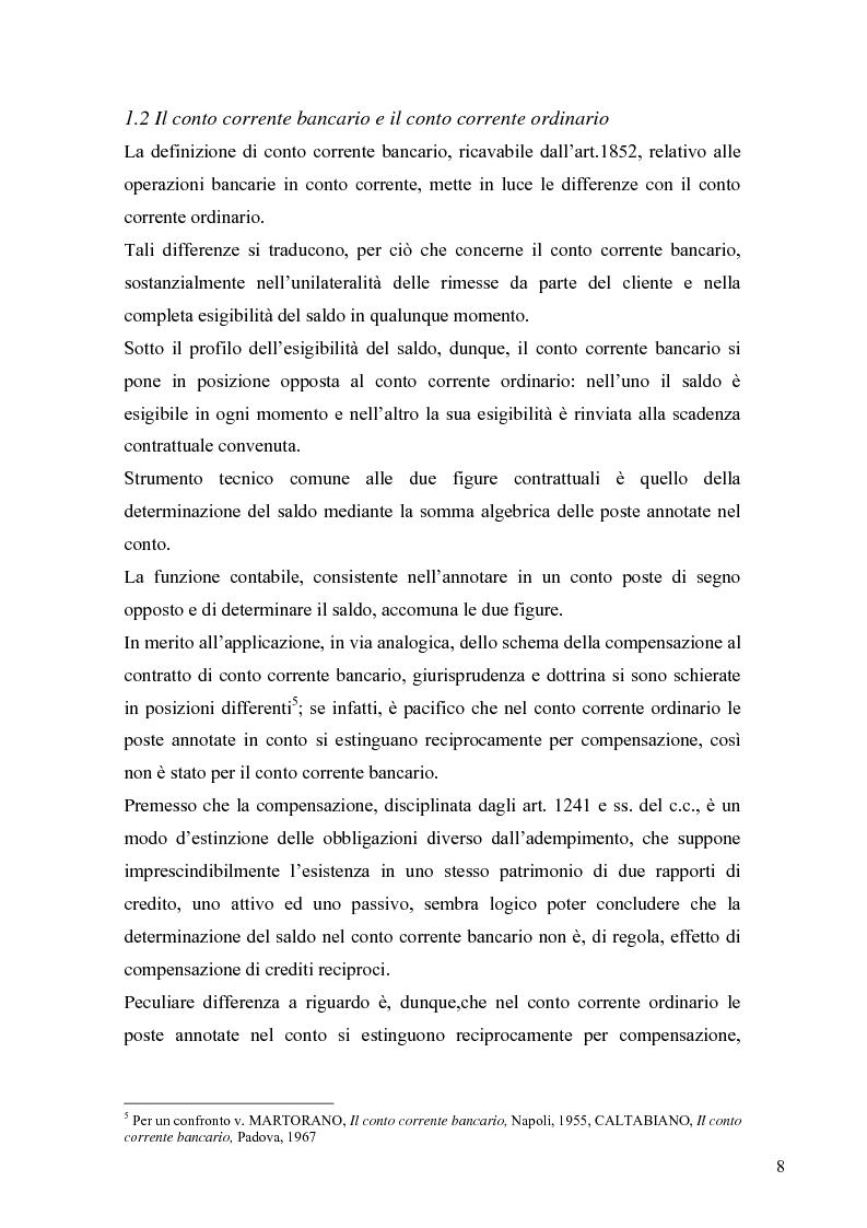 Anteprima della tesi: L'anatocismo bancario, Pagina 5