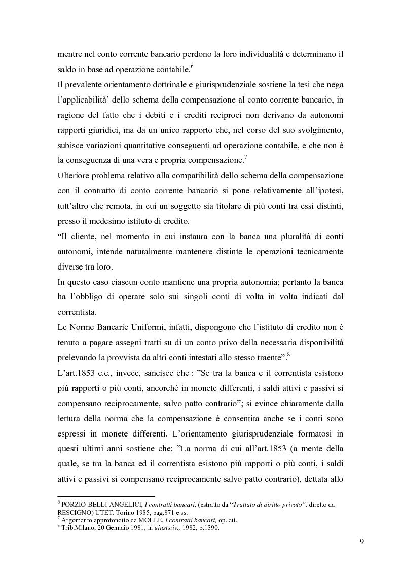 Anteprima della tesi: L'anatocismo bancario, Pagina 6