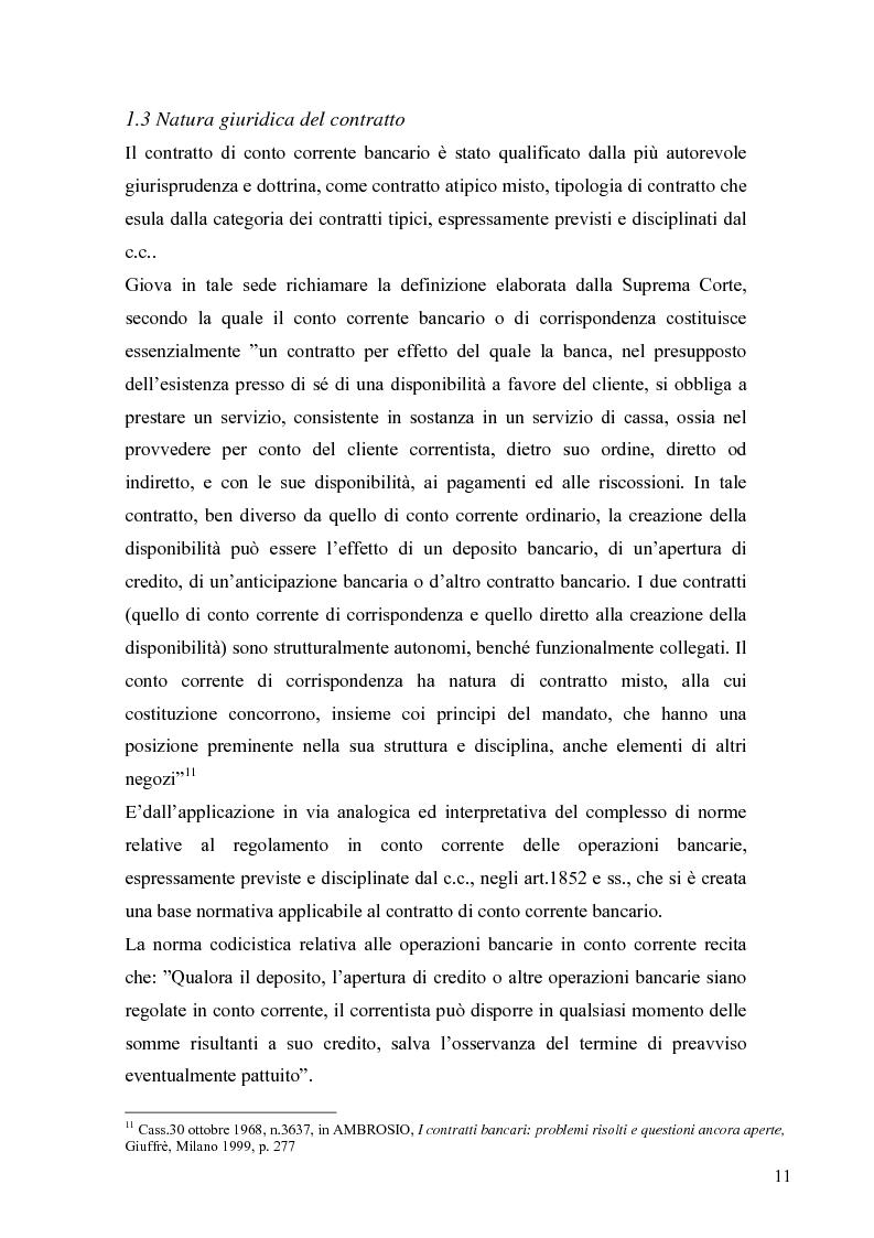 Anteprima della tesi: L'anatocismo bancario, Pagina 8