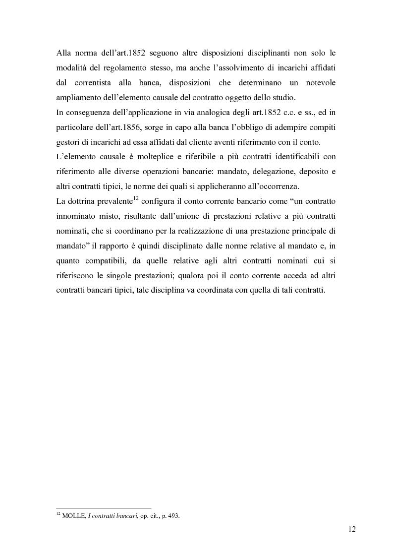 Anteprima della tesi: L'anatocismo bancario, Pagina 9