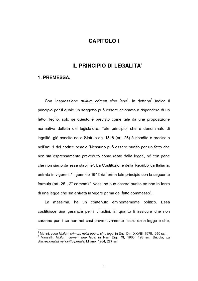 Anteprima della tesi: Il riciclaggio dei proventi illeciti, Pagina 1