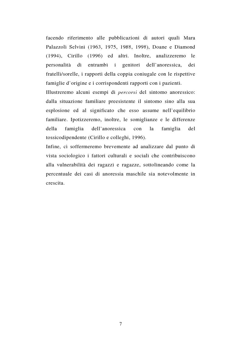 Anteprima della tesi: Pattern di attaccamento e disturbi del comportamento alimentare, Pagina 3