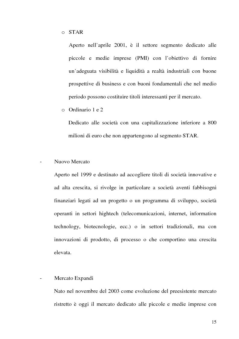 Anteprima della tesi: La Corporate Governance nelle aziende neoquotate - Un'analisi del caso italiano dal 1996 ad oggi, Pagina 12