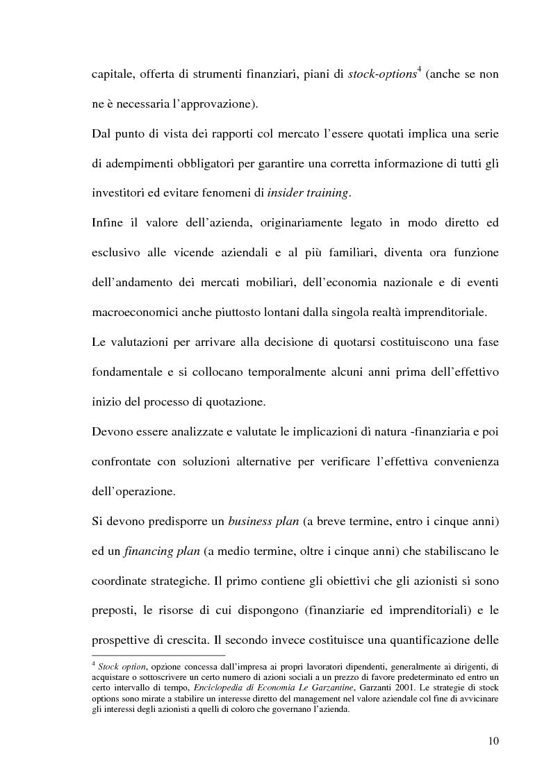 Anteprima della tesi: La Corporate Governance nelle aziende neoquotate - Un'analisi del caso italiano dal 1996 ad oggi, Pagina 7
