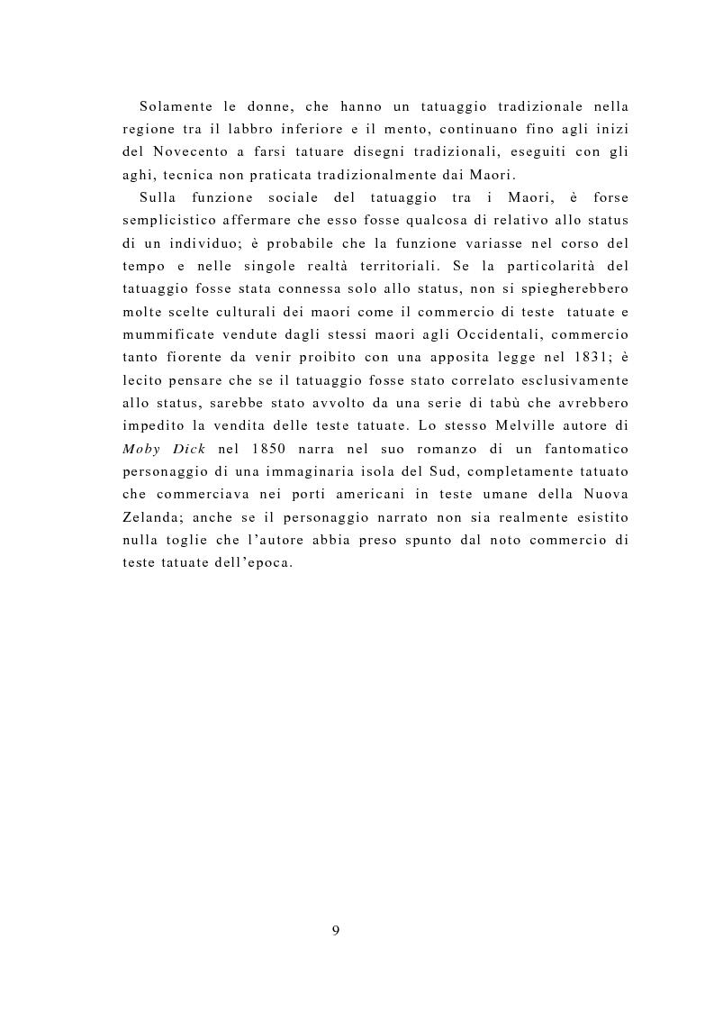 Anteprima della tesi: Il tatuaggio: una ricerca psicometrica della personalità e della motivazione, Pagina 7