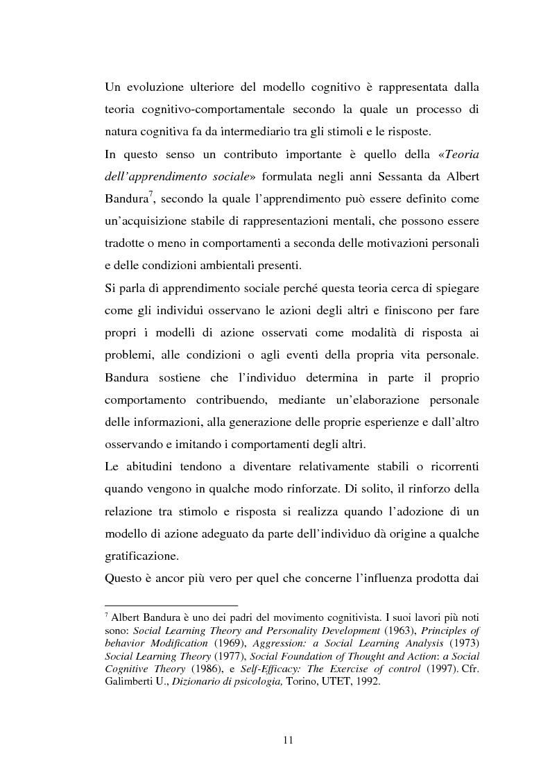Anteprima della tesi: Comportamento d'acquisto e mondo virtuale: nuovi modelli di business e case studies di e-commerce, Pagina 11