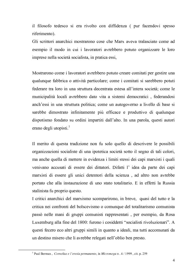 Anteprima della tesi: Cornelius Castoriadis ed il progetto dell'autonomia nell'epoca della globalizzazione, Pagina 4