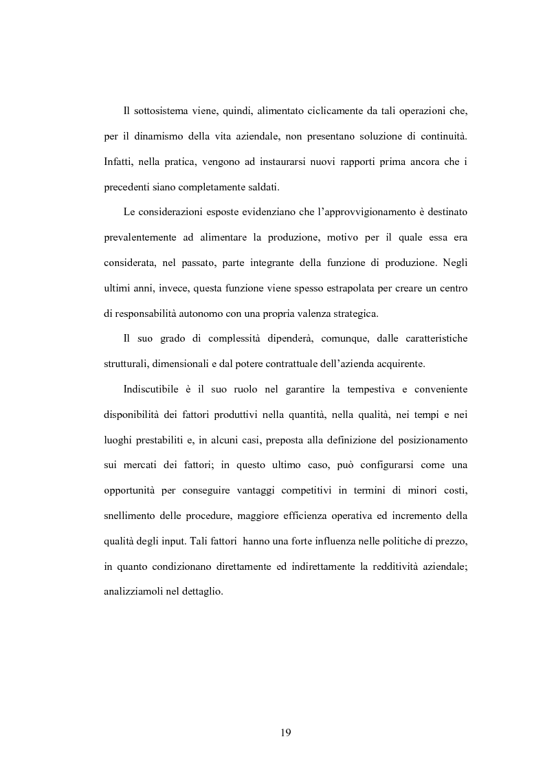 Anteprima della tesi: Le nuove frontiere del vantaggio competitivo nel ''business to business'' : e-procurement supply chain management, Pagina 15