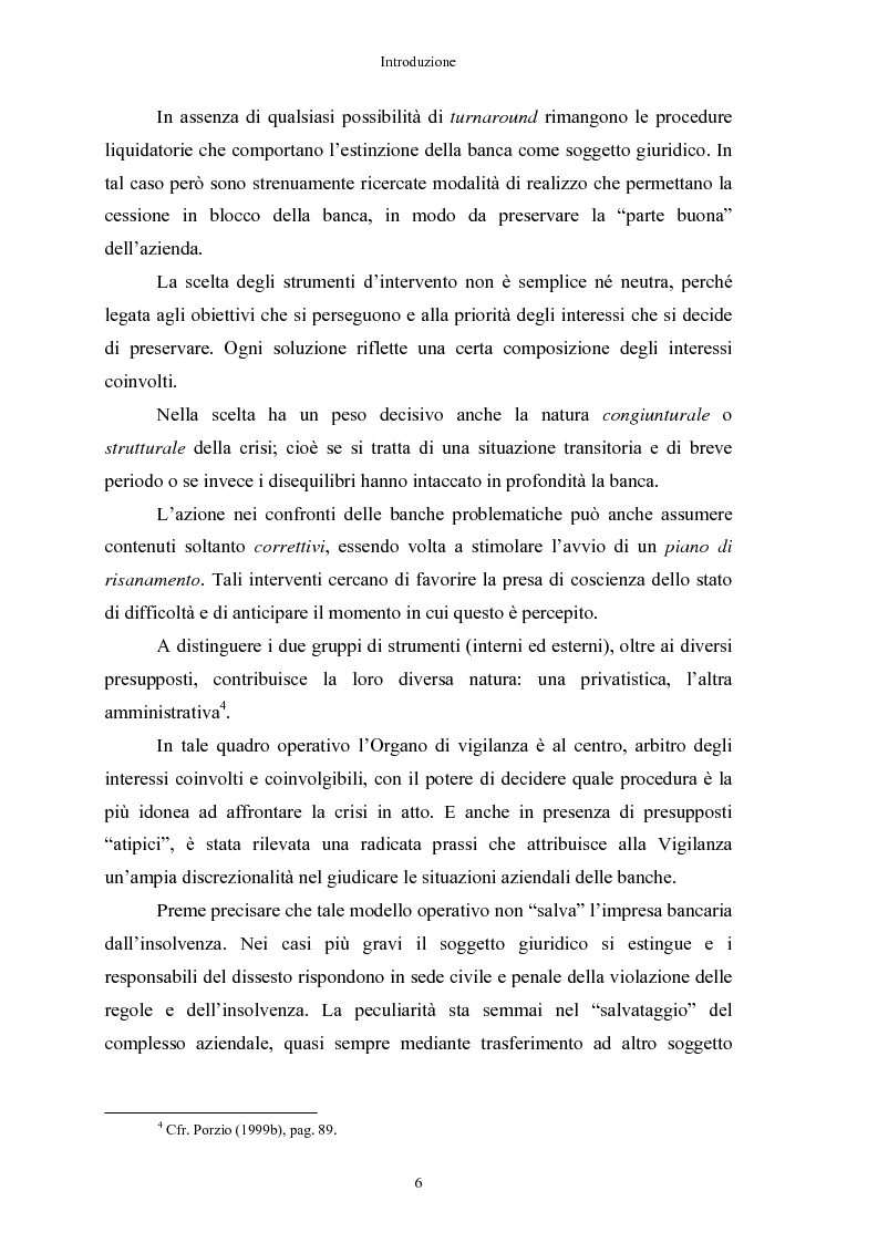 Anteprima della tesi: Le crisi bancarie. Strumenti di analisi, previsione e gestione., Pagina 5