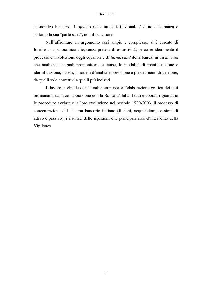 Anteprima della tesi: Le crisi bancarie. Strumenti di analisi, previsione e gestione., Pagina 6