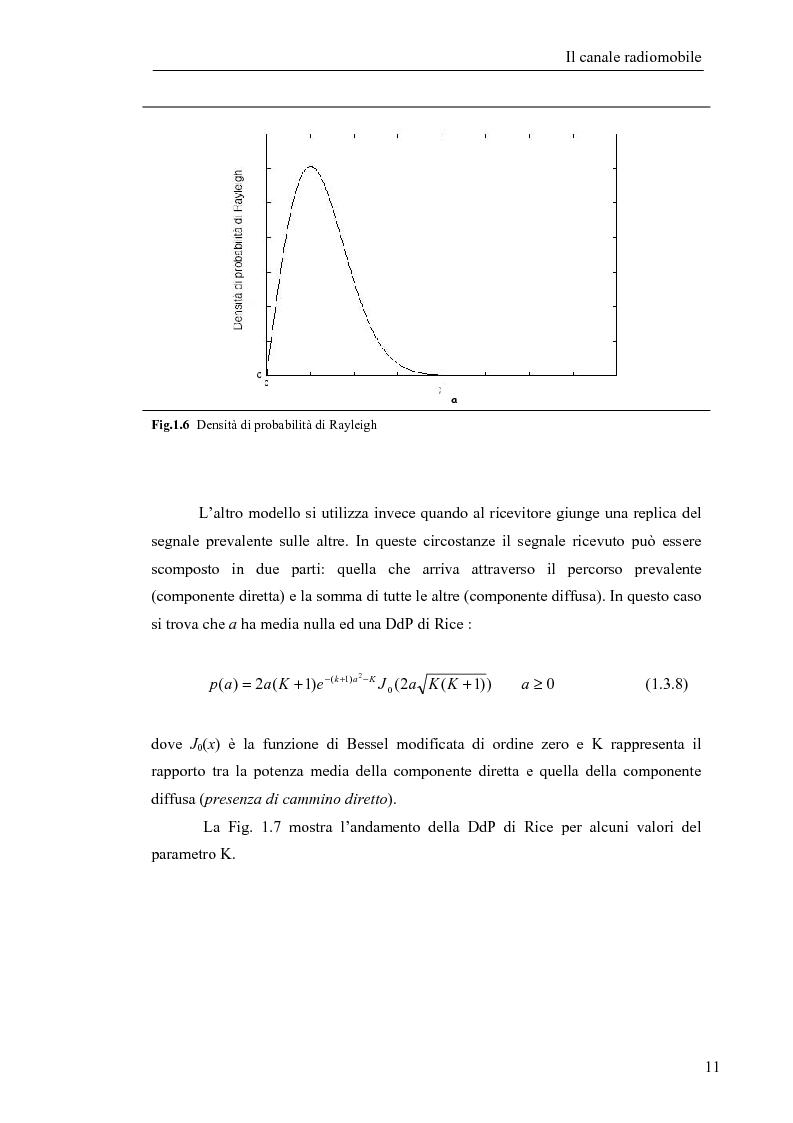 Anteprima della tesi: Stima di frequenza in canali tempo varianti per sistemi W-CDMA con codici lunghi, Pagina 14