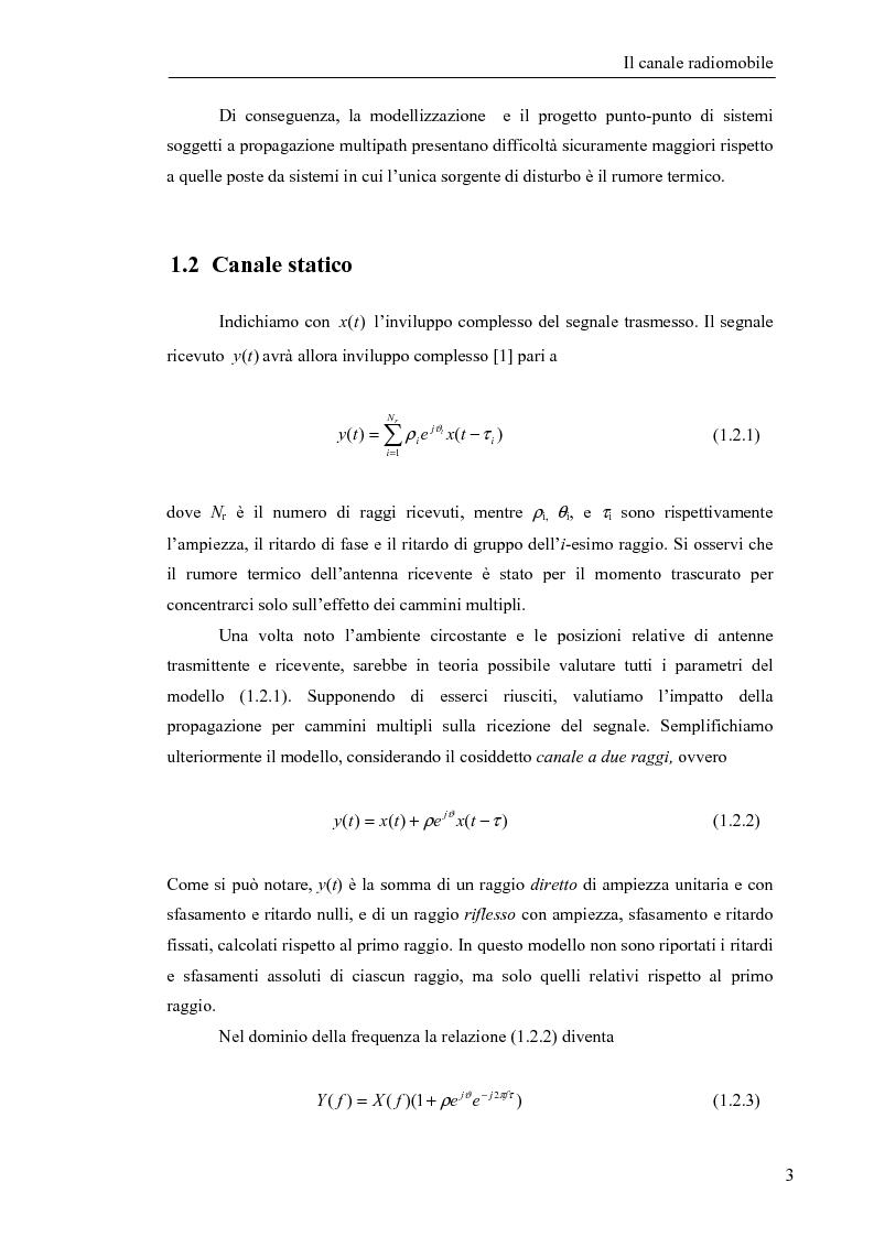 Anteprima della tesi: Stima di frequenza in canali tempo varianti per sistemi W-CDMA con codici lunghi, Pagina 6
