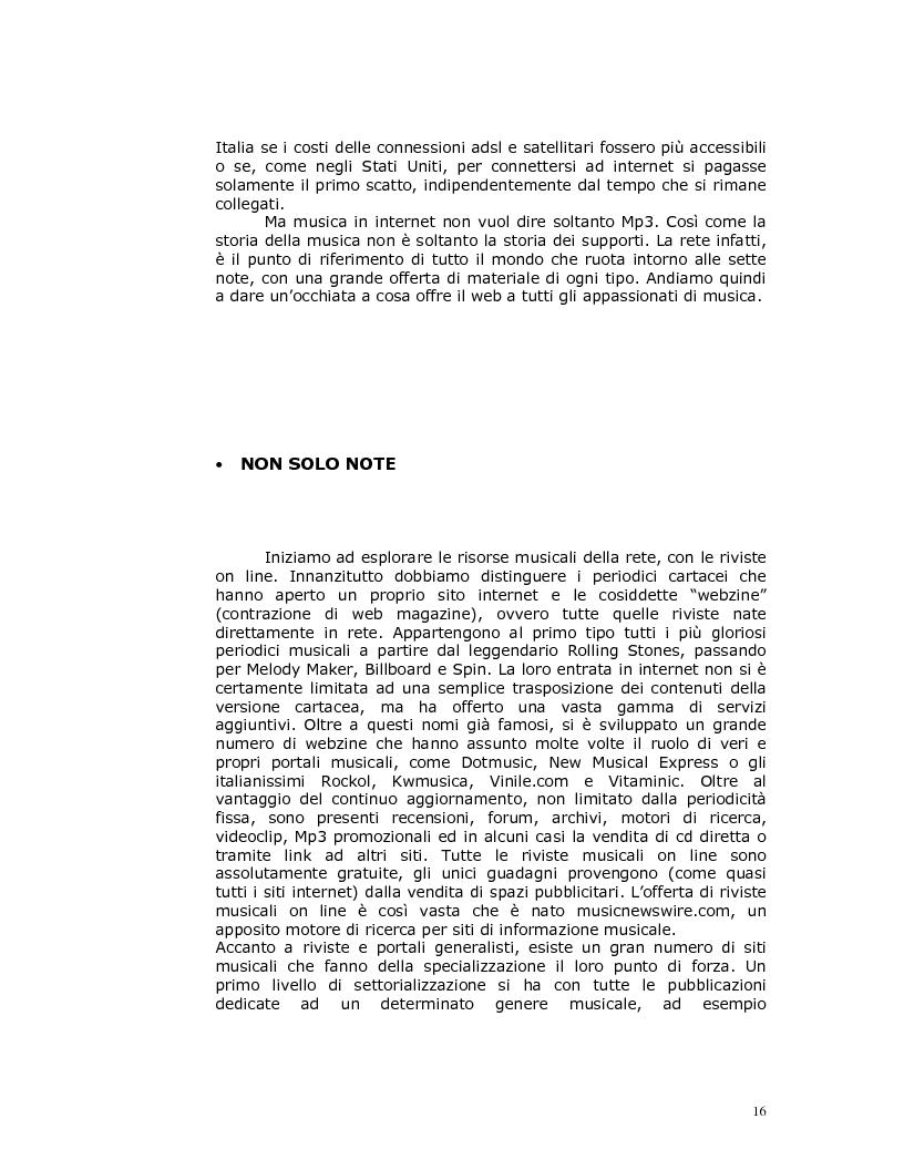 Anteprima della tesi: Note nella rete: Presente e futuro della musica in internet, Pagina 13