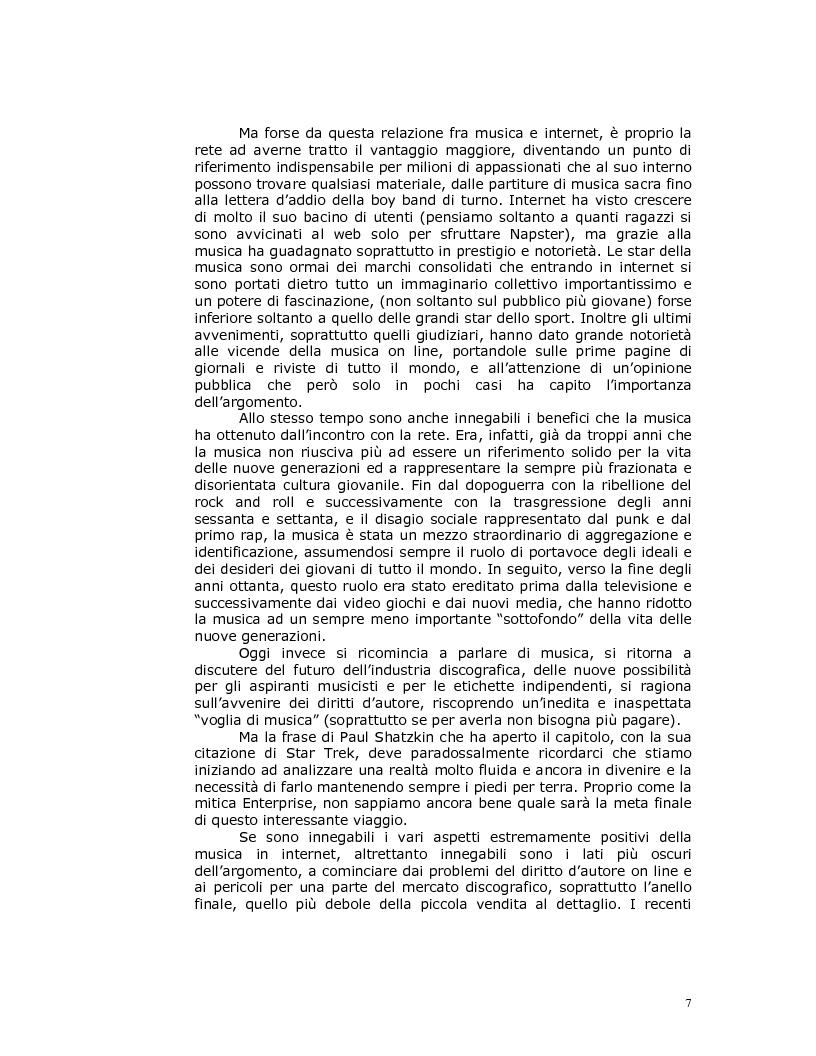 Anteprima della tesi: Note nella rete: Presente e futuro della musica in internet, Pagina 4
