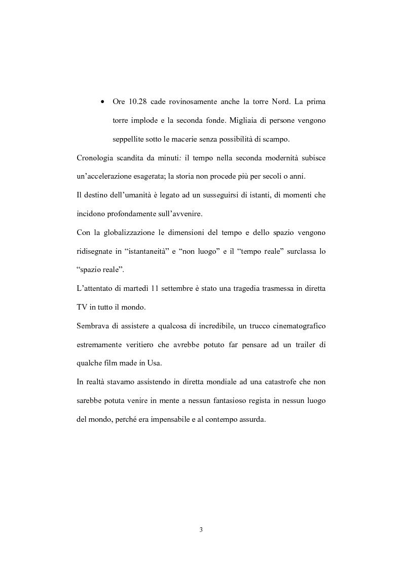 Anteprima della tesi: Globalizzazione del terrorismo e terrorismo della globalizzazione, Pagina 3