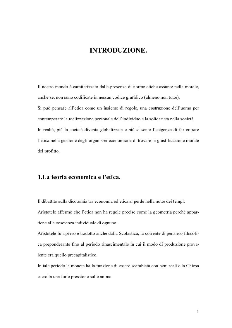 Anteprima della tesi: La responsabilità sociale degli istituti di credito, Pagina 10