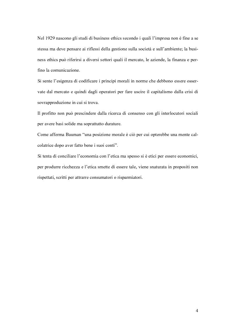 Anteprima della tesi: La responsabilità sociale degli istituti di credito, Pagina 13