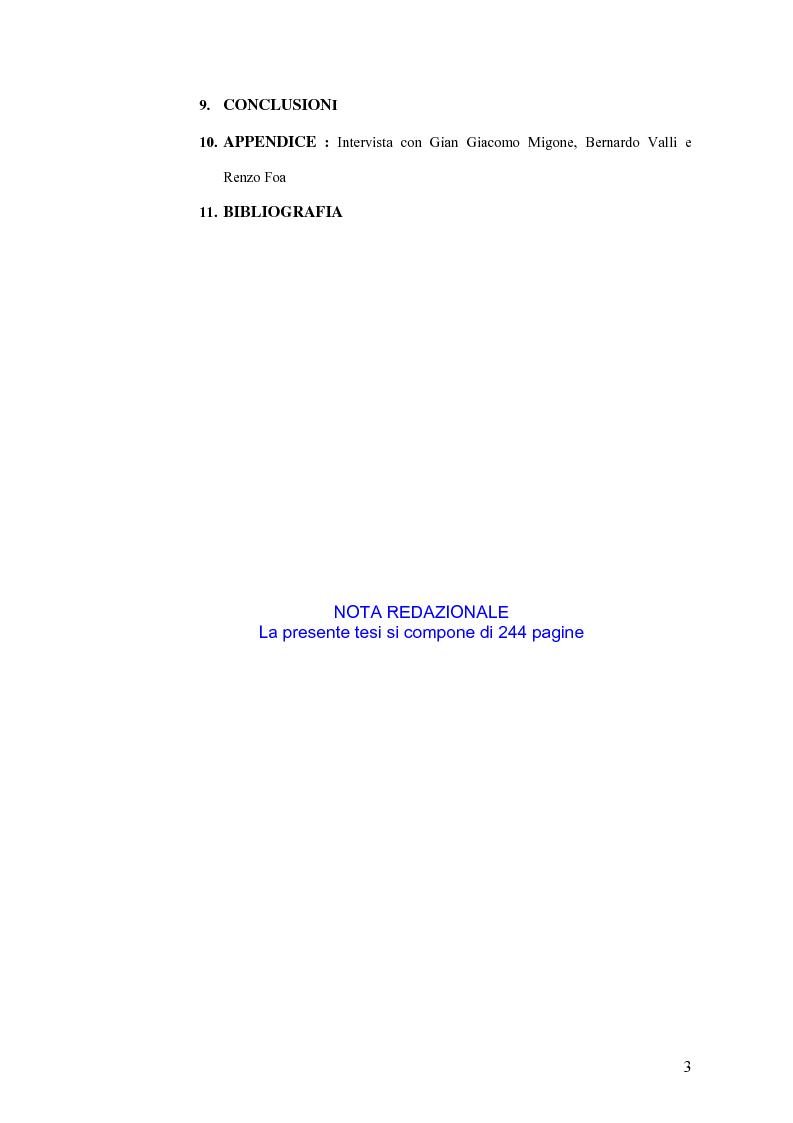 Indice della tesi: Politica estera e comunicazione: La prima guerra del golfo secondo ''La Repubblica'' e ''L'Unità'', Pagina 2