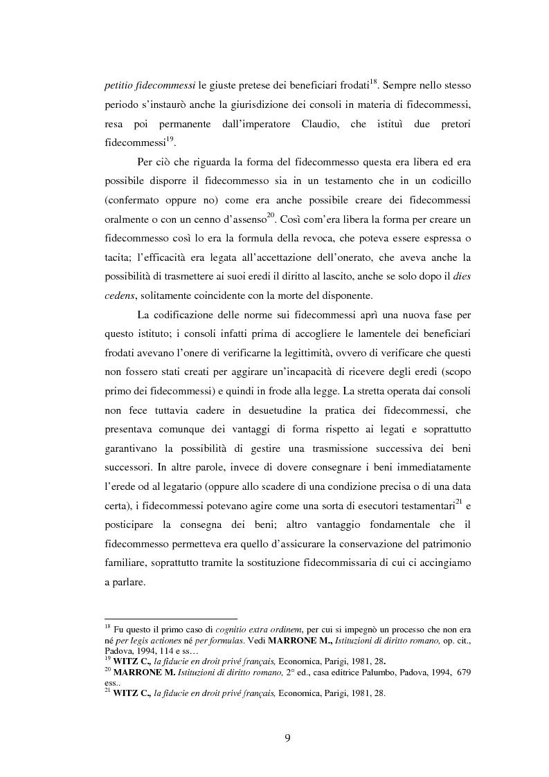 Anteprima della tesi: La Fiducie: un'analisi di diritto comparato, Pagina 9