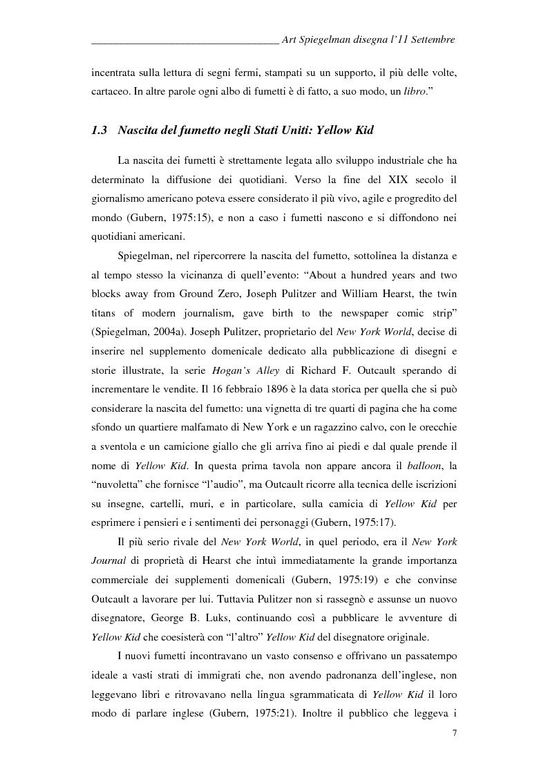 Anteprima della tesi: In the shadow of no towers. Art Spiegelman disegna l'11 Settembre, Pagina 5