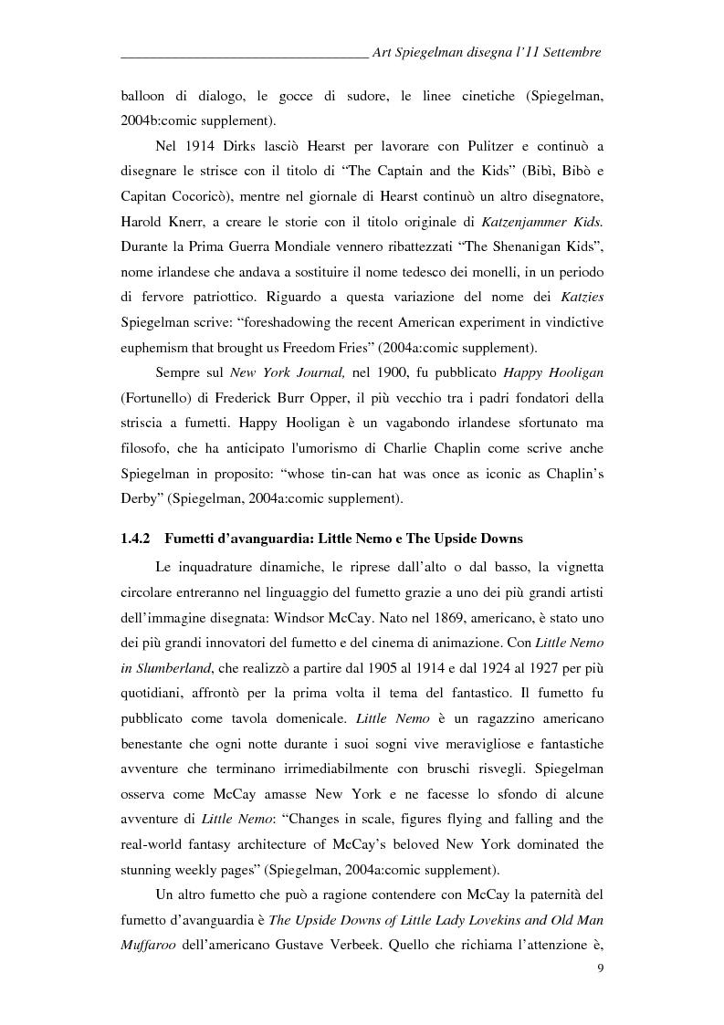Anteprima della tesi: In the shadow of no towers. Art Spiegelman disegna l'11 Settembre, Pagina 6