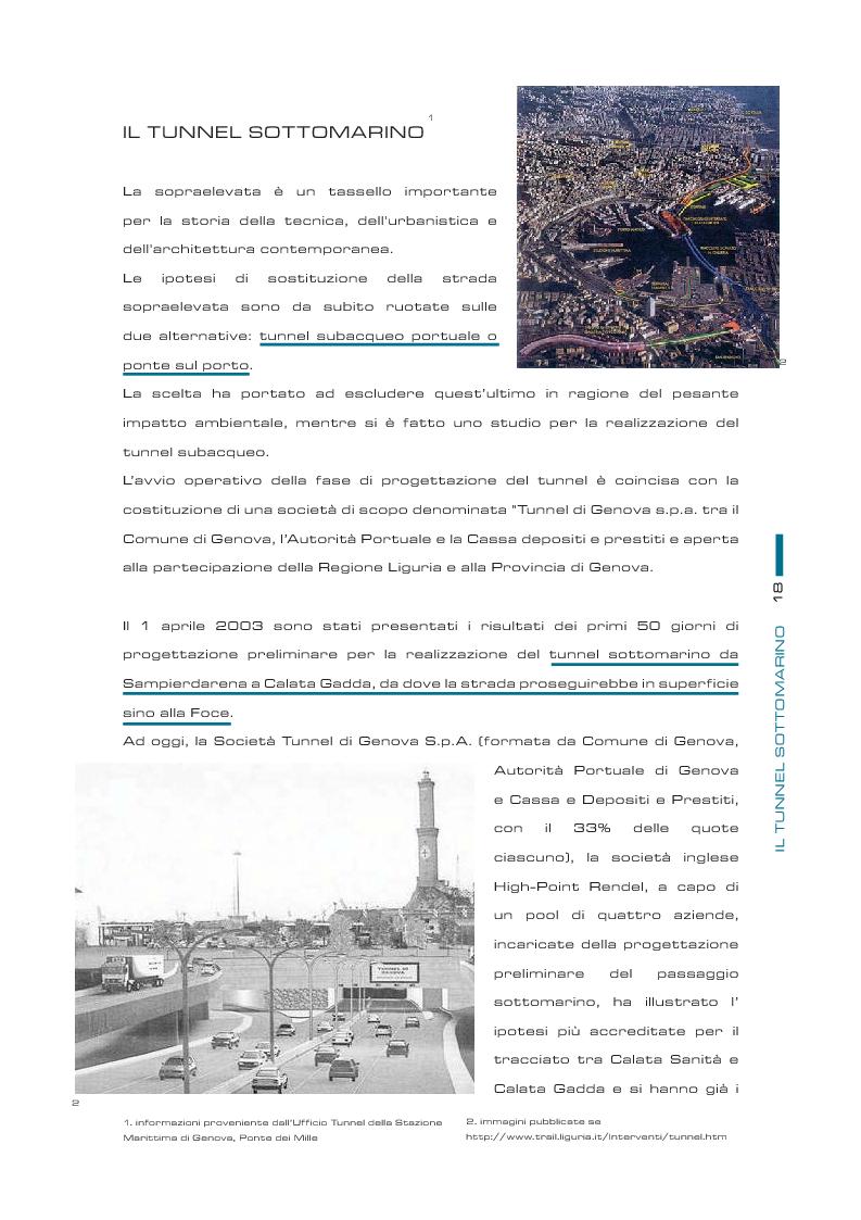 Anteprima della tesi: Il futuro della sopraelevata di Genova: la nuova passeggiata a mare, Pagina 5