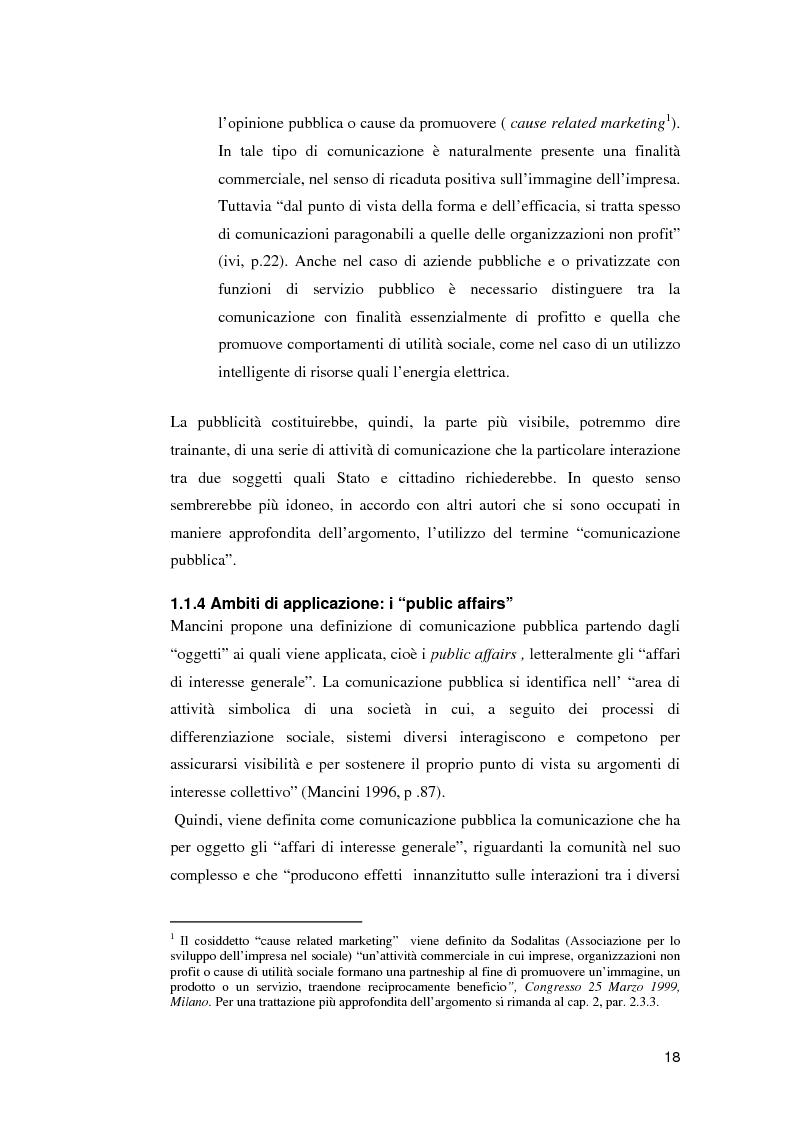 Anteprima della tesi: Le campagne di utilità sociale sulla tossicodipendenza: un contributo di ricerca, Pagina 15