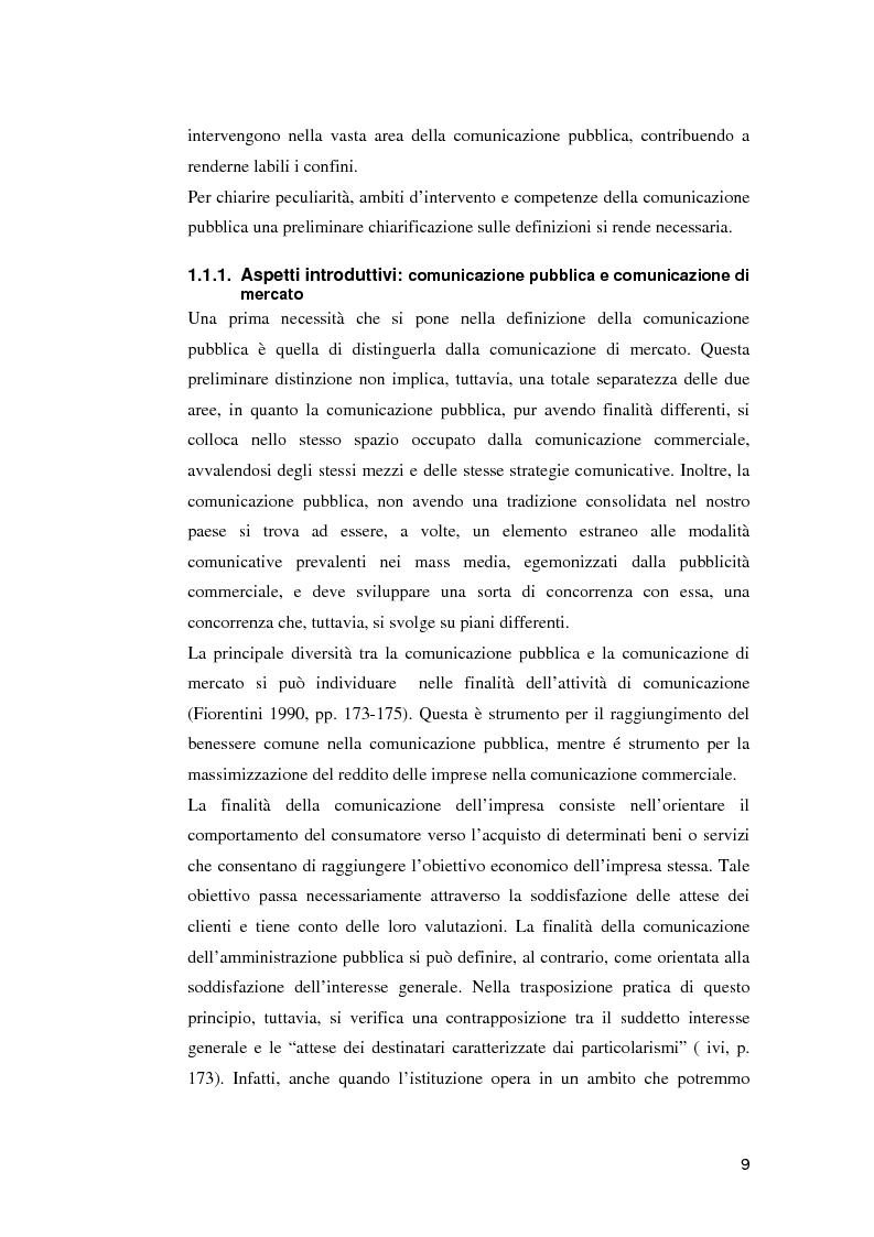 Anteprima della tesi: Le campagne di utilità sociale sulla tossicodipendenza: un contributo di ricerca, Pagina 6