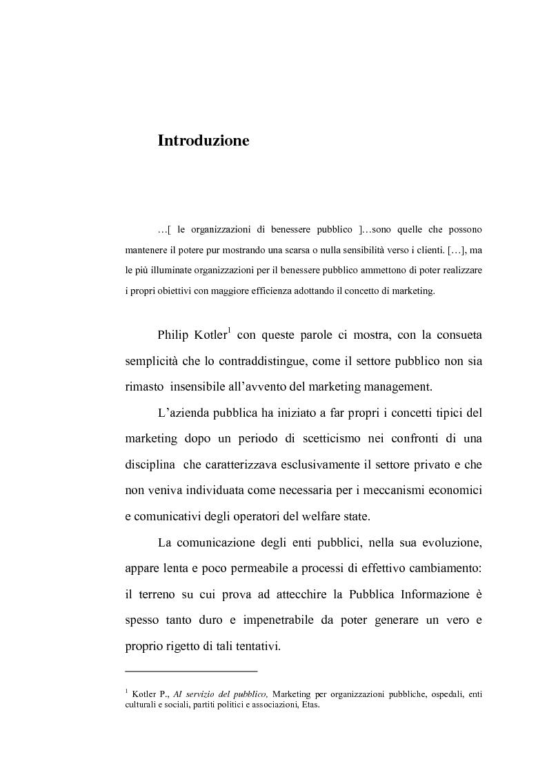 Anteprima della tesi: La comunicazione istituzionale dell'Aeronautica Militare. Uno sguardo dall'alto sulle attività dell'Ufficio Stampa della A. M., Pagina 1