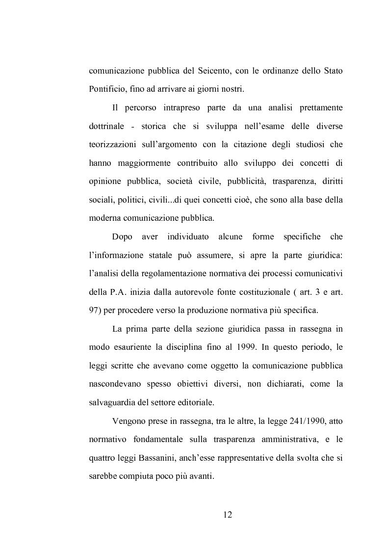 Anteprima della tesi: La comunicazione istituzionale dell'Aeronautica Militare. Uno sguardo dall'alto sulle attività dell'Ufficio Stampa della A. M., Pagina 6