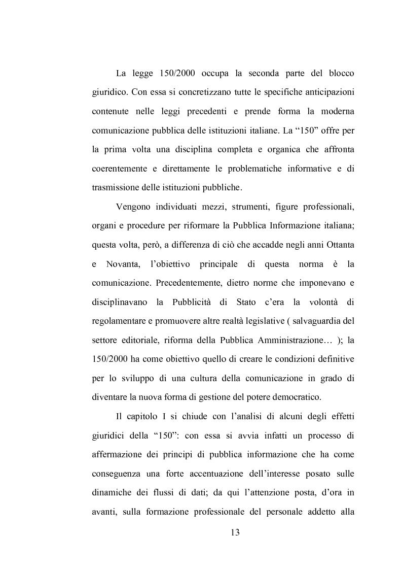 Anteprima della tesi: La comunicazione istituzionale dell'Aeronautica Militare. Uno sguardo dall'alto sulle attività dell'Ufficio Stampa della A. M., Pagina 7