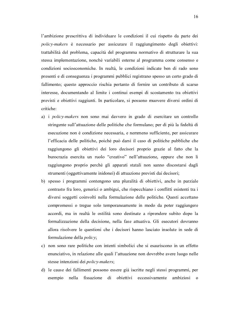 Anteprima della tesi: Verso un'Italia federale. Dalla Riforma del Titolo V al disegno di legge sulla devoluzione., Pagina 13