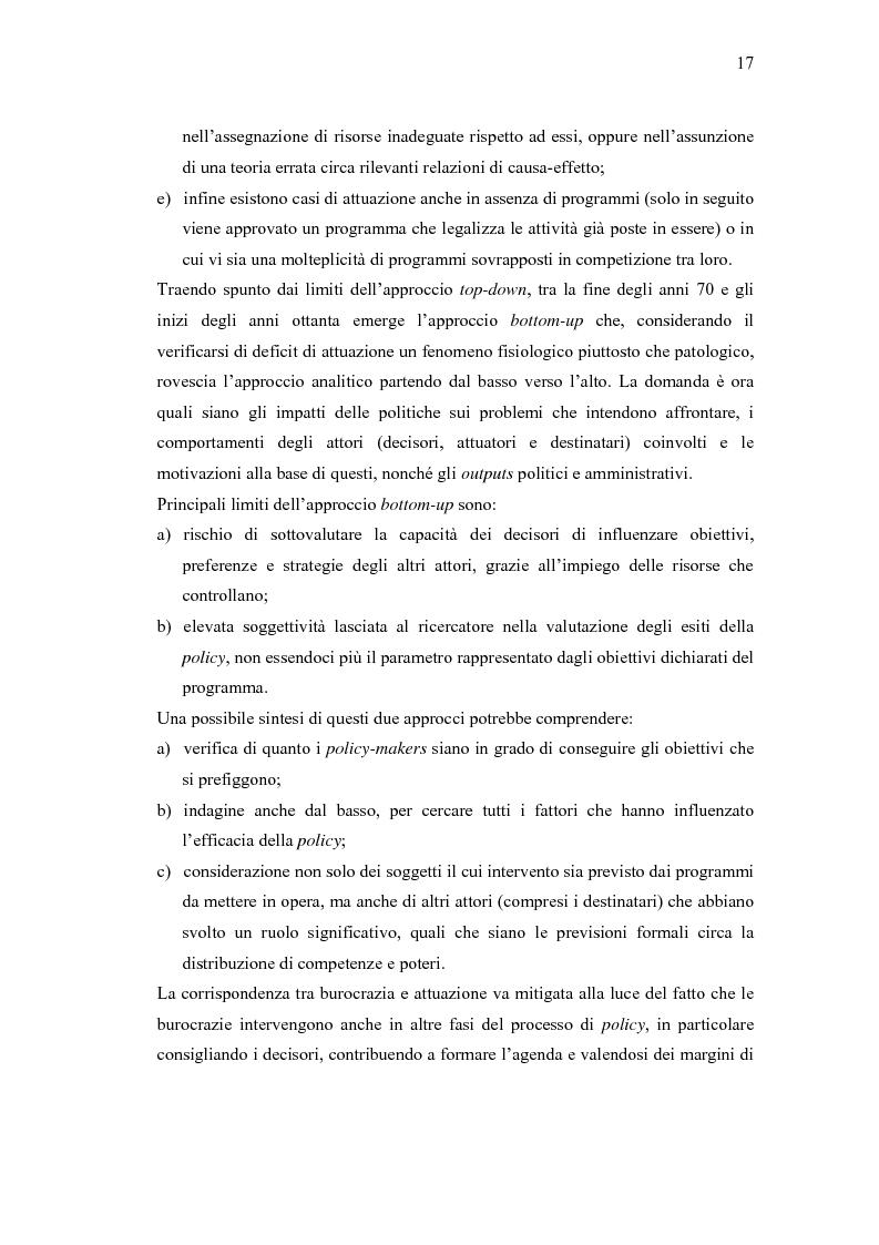 Anteprima della tesi: Verso un'Italia federale. Dalla Riforma del Titolo V al disegno di legge sulla devoluzione., Pagina 14