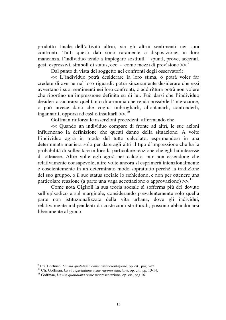 Anteprima della tesi: Il gioco del calcio come fenomeno sociale tra rappresentazione e realtà, Pagina 10
