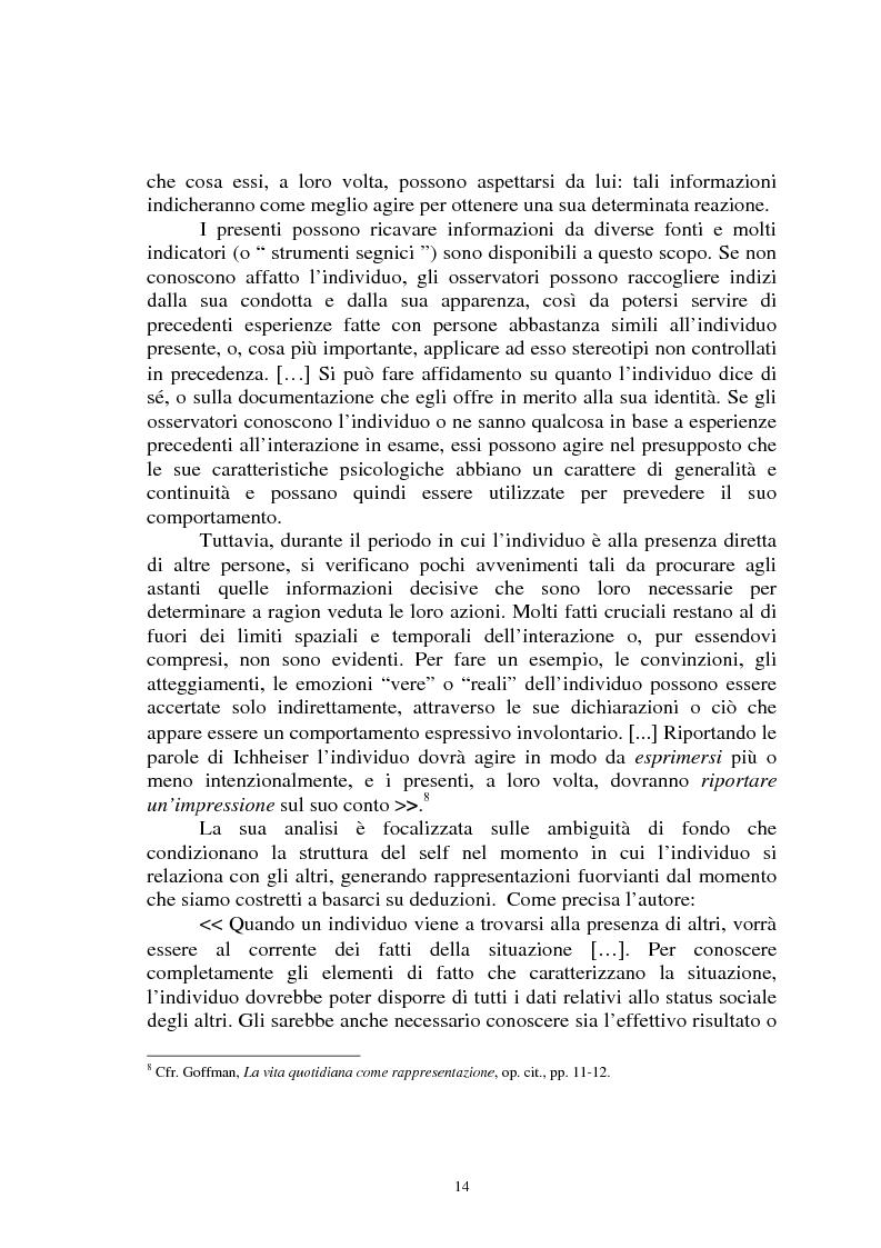 Anteprima della tesi: Il gioco del calcio come fenomeno sociale tra rappresentazione e realtà, Pagina 9