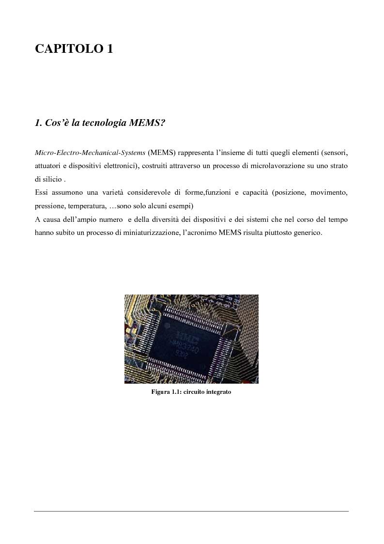 Anteprima della tesi: Ricostruzione tridimensionale mediante accelerometri MEMS, Pagina 2