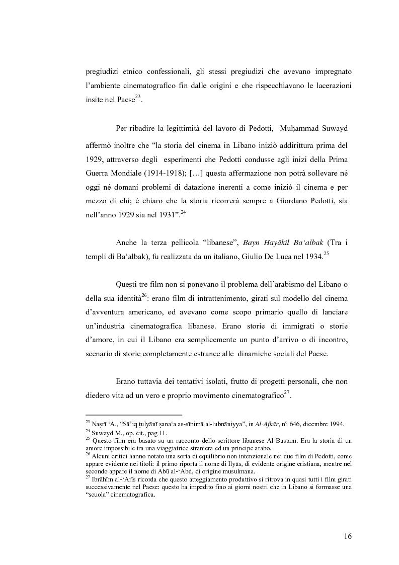Anteprima della tesi: Cinema: specchio della società. La guerra civile nei film libanesi, Pagina 13