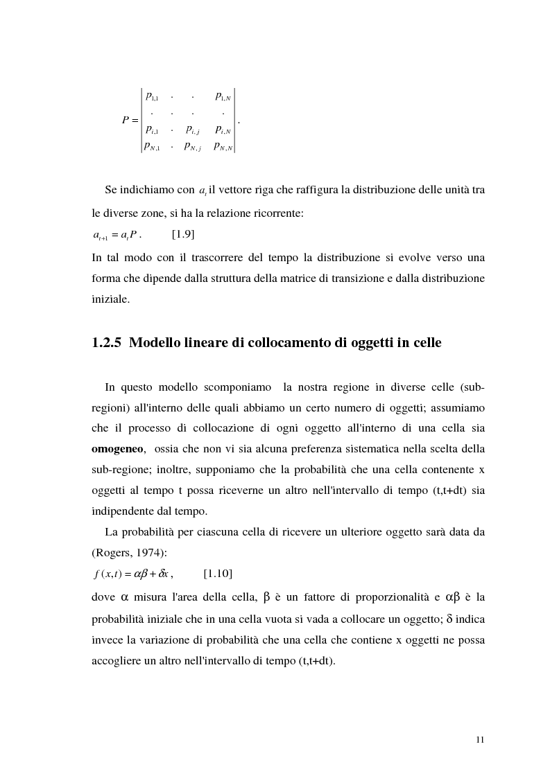 Anteprima della tesi: L'analisi statistica spaziale e lo studio dei problemi di inquinamento ambientale, Pagina 11