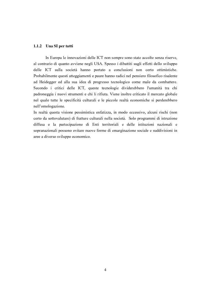 Anteprima della tesi: Sviluppo di un'Infrastuttura di e-Government per l'Erogazione di Servizi Web, Pagina 4