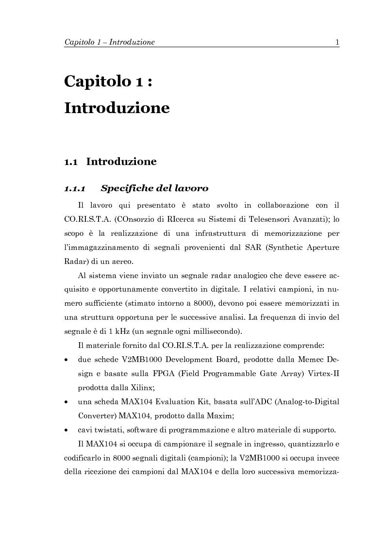 Anteprima della tesi: Trasferimento dati a 2.4 Gb/s in standard differenziale, Pagina 3
