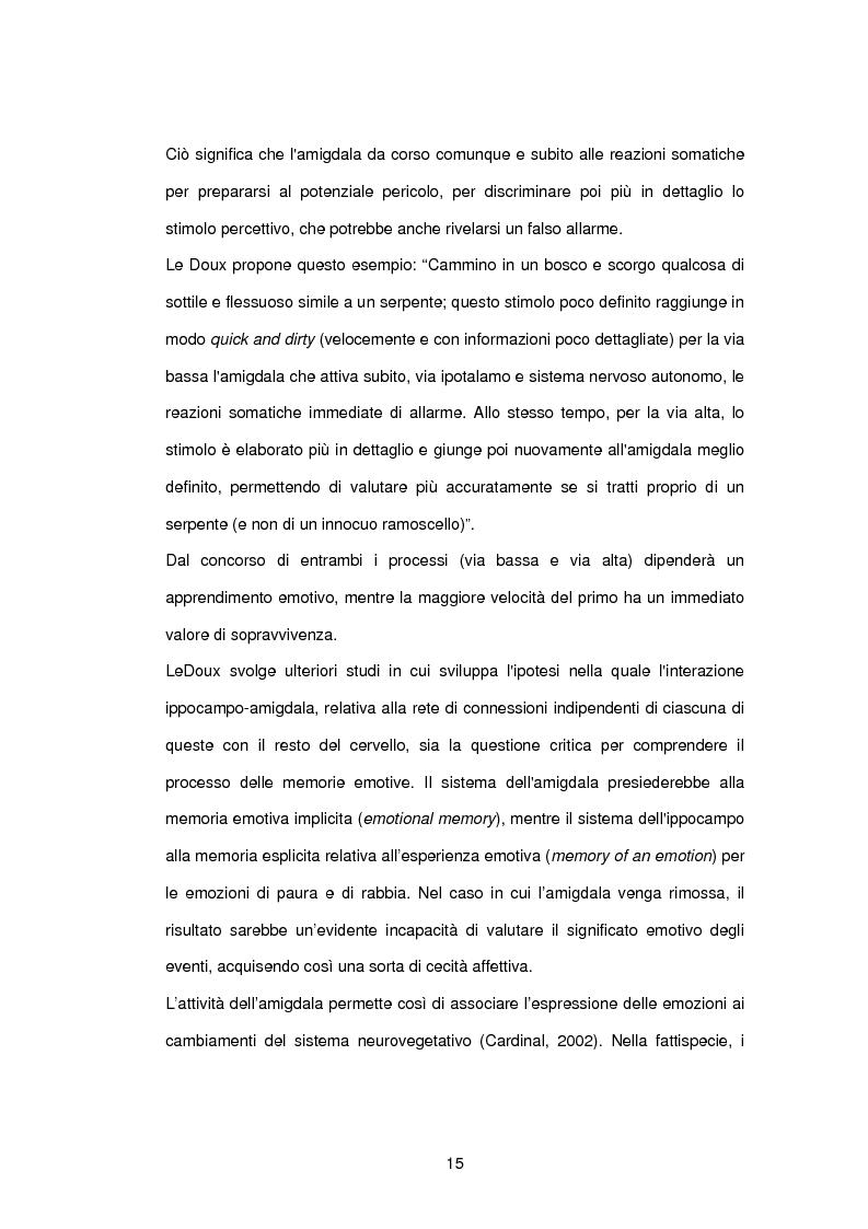Anteprima della tesi: L'influenza di rabbia, paura e memoria sul comportamento alimentare: uno studio metodologico, Pagina 15