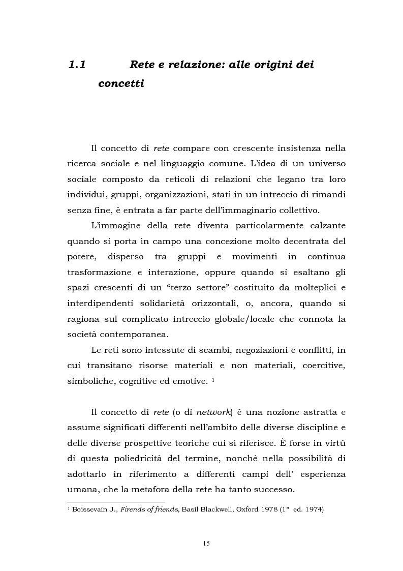 Anteprima della tesi: L'approccio di rete come elemento strategico nella gestione delle iniziative di cooperazione allo sviluppo. Il caso Potosì, Pagina 9
