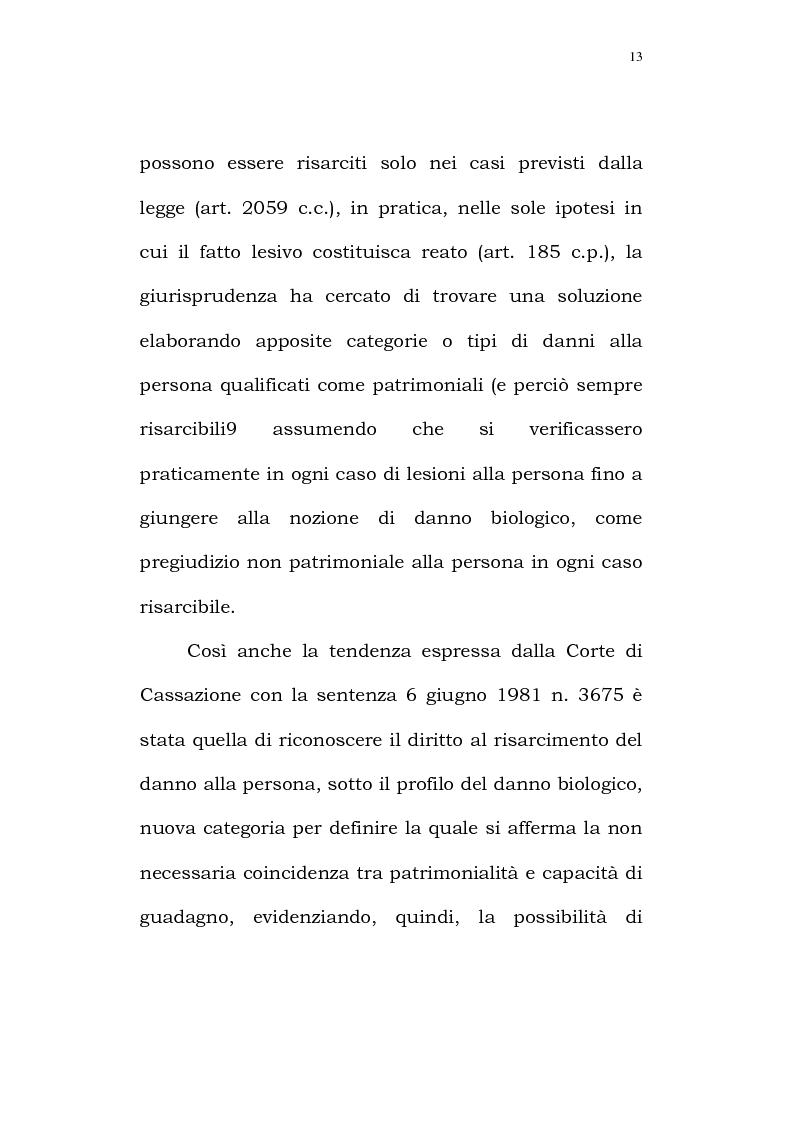 Anteprima della tesi: Il diritto alla identità personale, Pagina 10