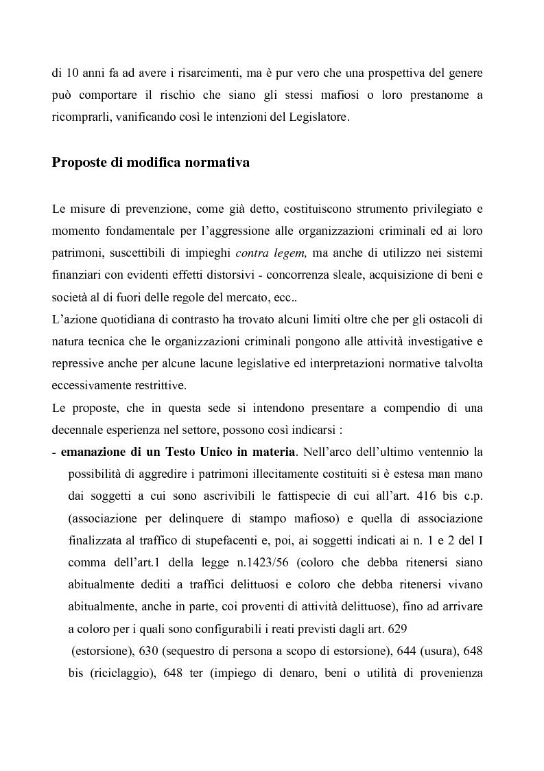 Anteprima della tesi: Le misure di prevenzione, Pagina 13