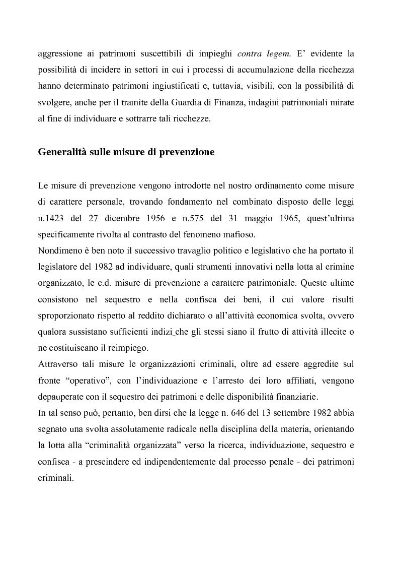 Anteprima della tesi: Le misure di prevenzione, Pagina 3