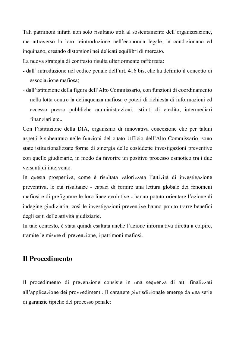 Anteprima della tesi: Le misure di prevenzione, Pagina 4