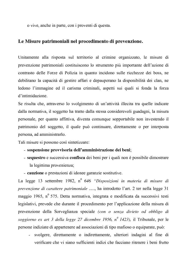 Anteprima della tesi: Le misure di prevenzione, Pagina 6