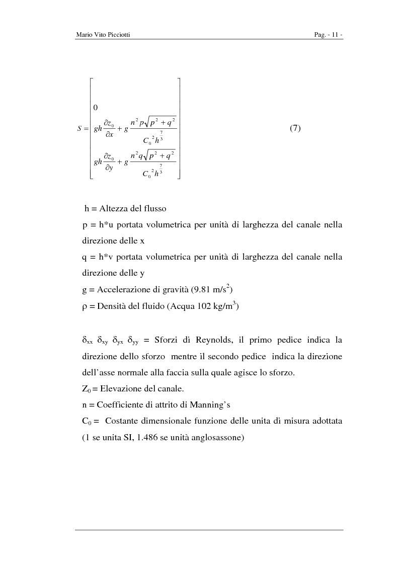Anteprima della tesi: Simulazione numerica di onde a fronte ripido, Pagina 8