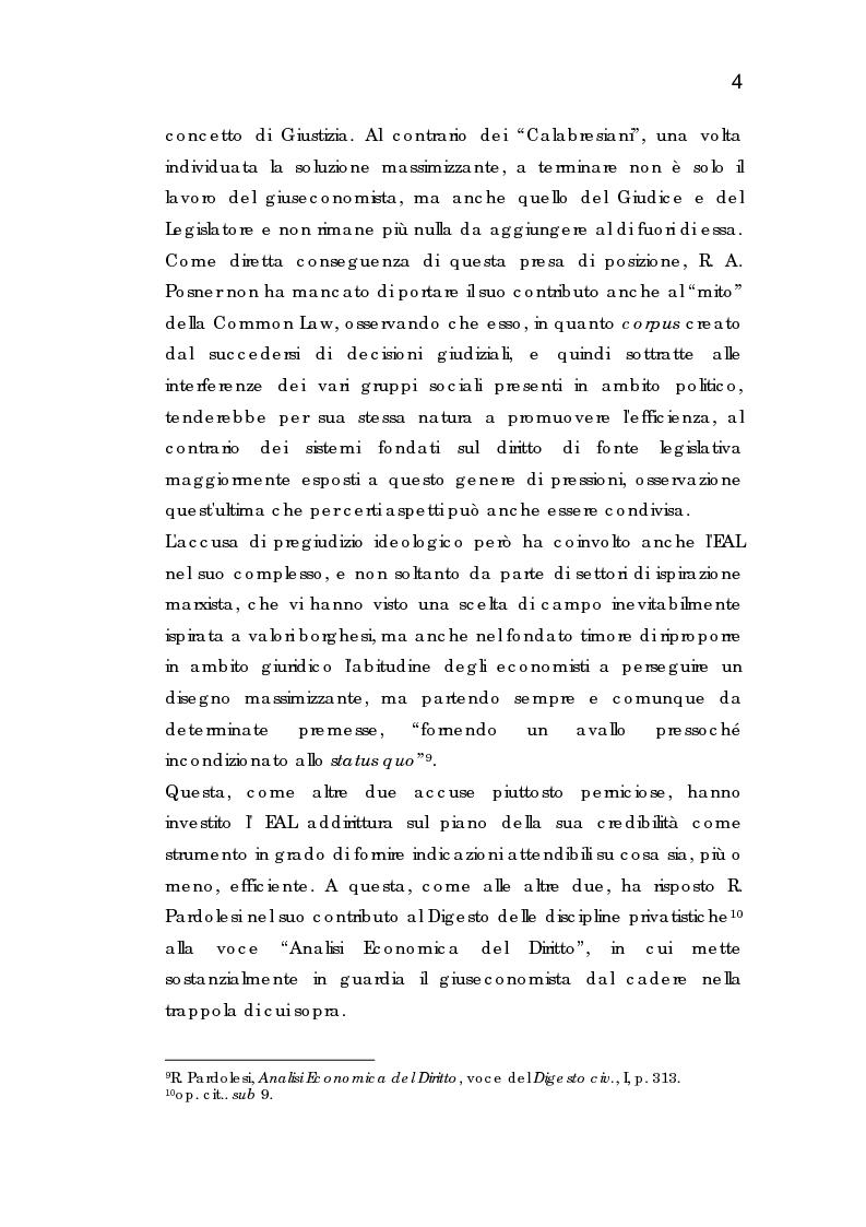 Anteprima della tesi: Analisi economica dell'espropriazione, Pagina 4